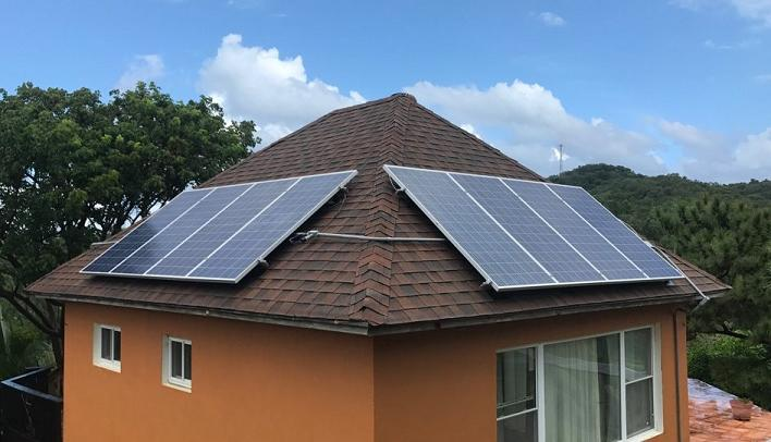 Futuresolar 2.8kW off grid complete solar roof panel system